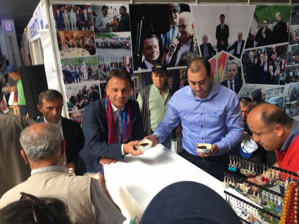 Trabzon Günleri'nde Maçka standına yoğun ilgi