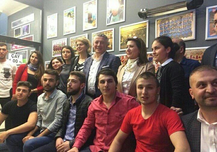 İYİ Parti Trabzon Milletvekili Adayı Hüseyin Örs'e büyük ilgi