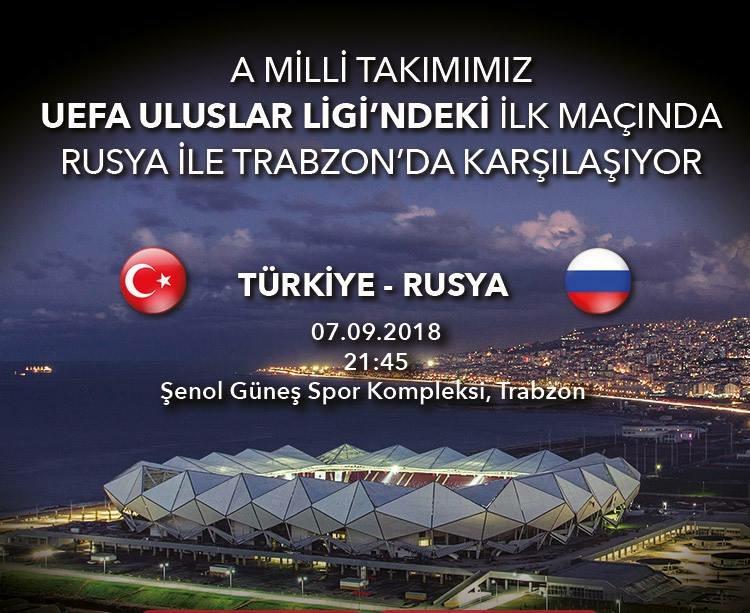 Türkiye Rusya ile Trabzon'da karşılaşacak