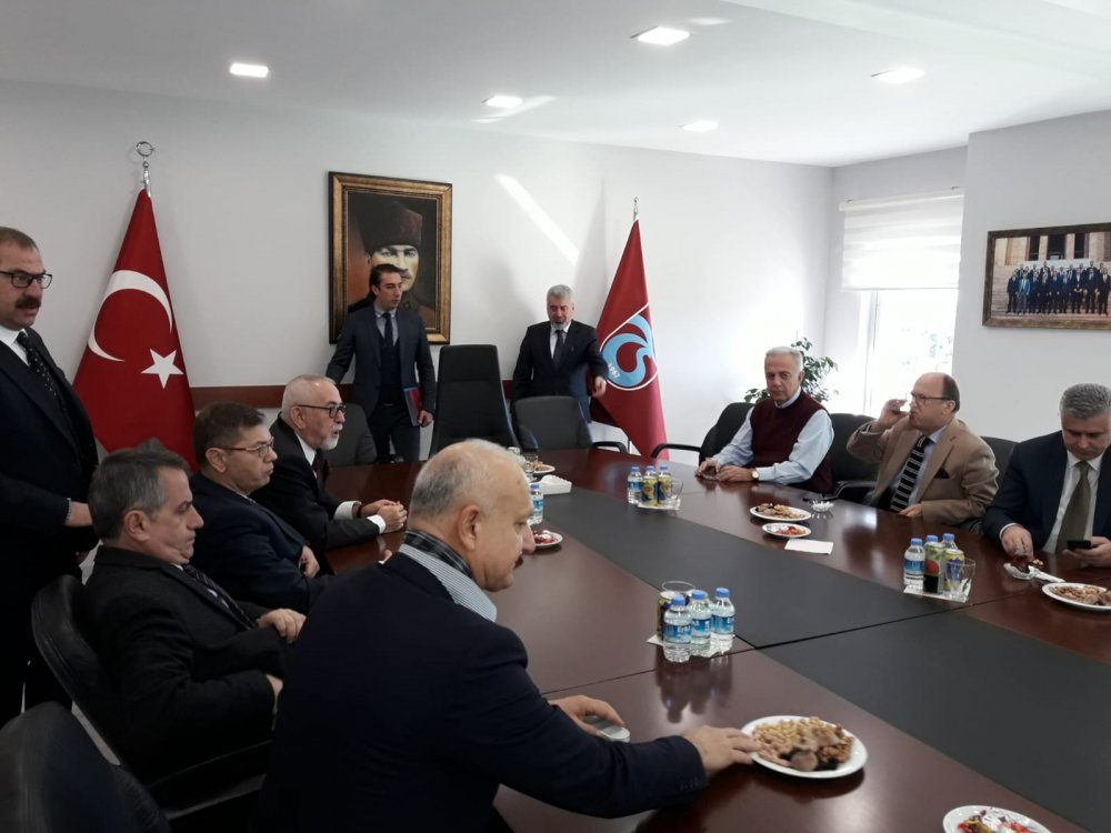 Trabzonspor'da Mazbata töreni - CANLI YAYIN