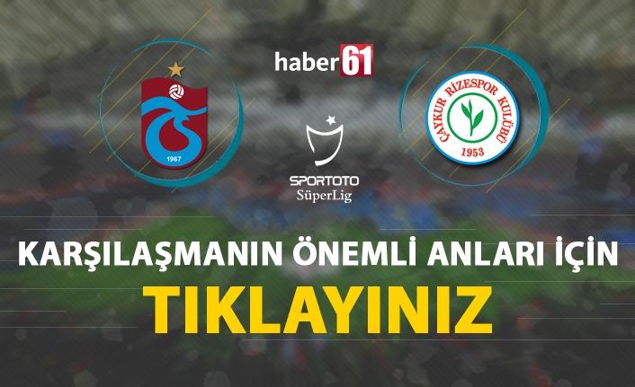Trabzonspor'dan fırtına gibi kapanış