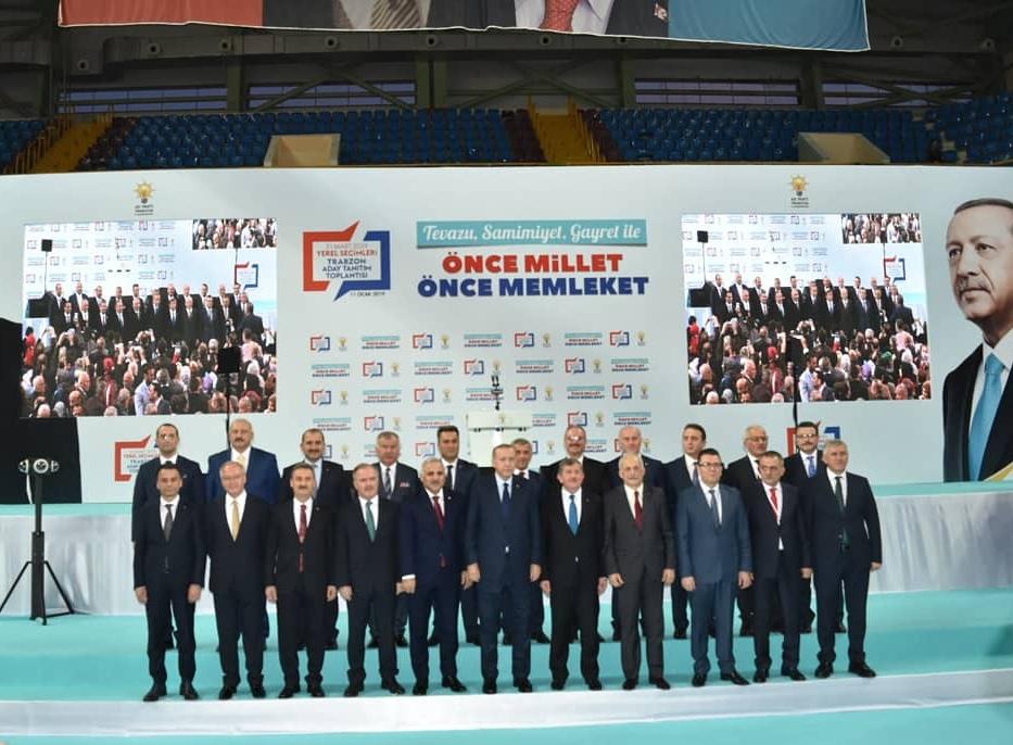 Cumhurbaşkanı Erdoğan Trabzon'da Belediye Başkan Adaylarını açıkladı