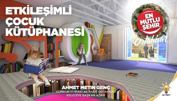 Genç: Gençlik ve çocuk kütüphanesini hayata geçireceğiz