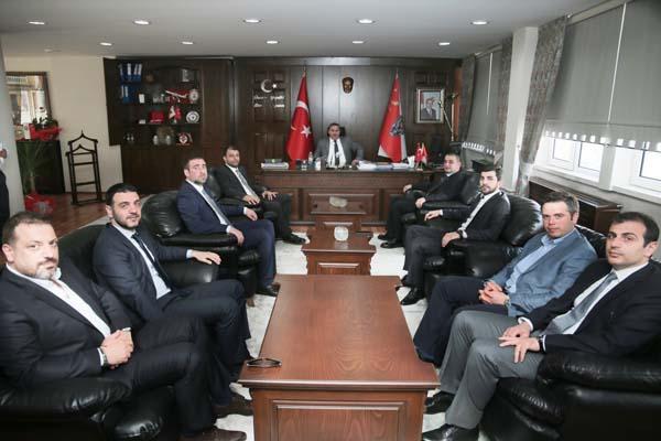 TSİAD'tan Vali Ustaoğlu ve Müdür Çevik'e ziyaret