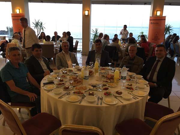 Trabzon'da jeoloji Mühendisleri iftarda buluştu
