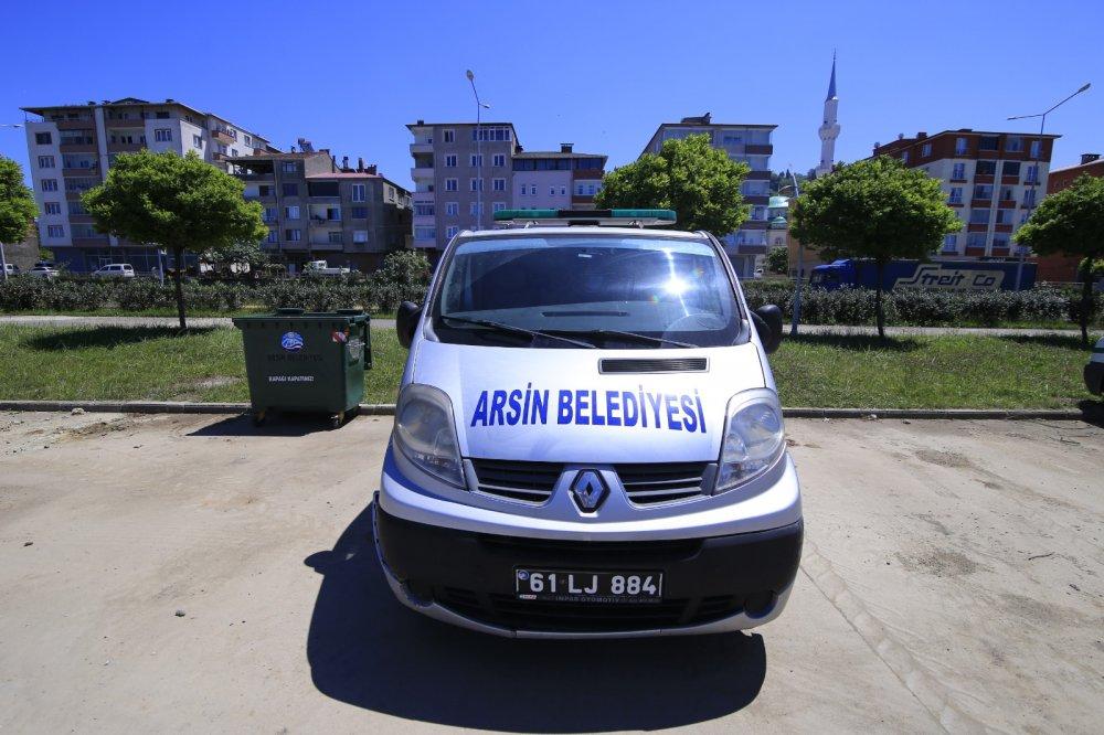 Arsin'de yeni hizmet başladı