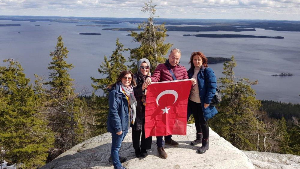 Trabzon ve Finlandiyalı öğretmenler el ele