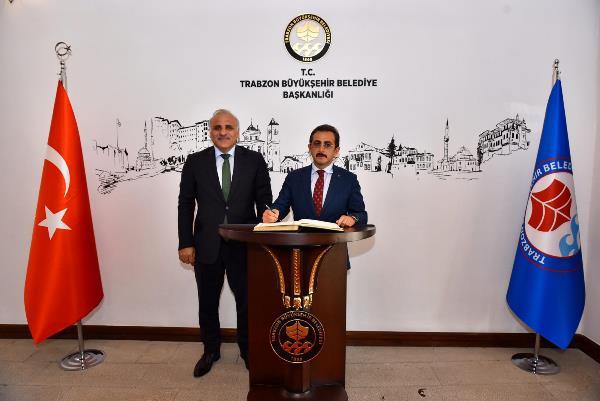 Bakan Yardımcısı Aksu'dan Zorluoğlu'na ziyaret