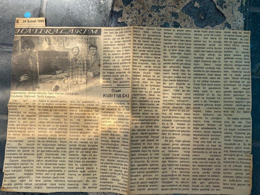 Trabzon yakın tarihinin şahidi; Diplomat Büfe