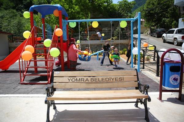 Yomra'da ücra köye güzel hizmet