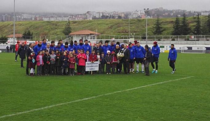 Trabzonspor'a idman öncesinde sürpriz