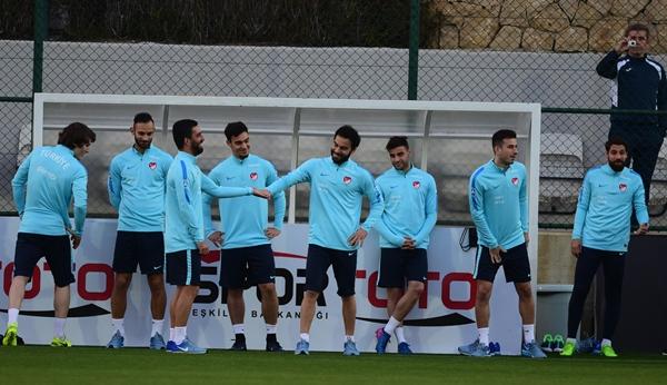 Trabzonspor'un yıldızları milli kampta