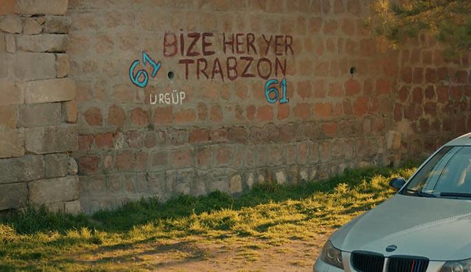 Aşk ve Mavi'nin 61. bölümünde Trabzonspor vurgusu