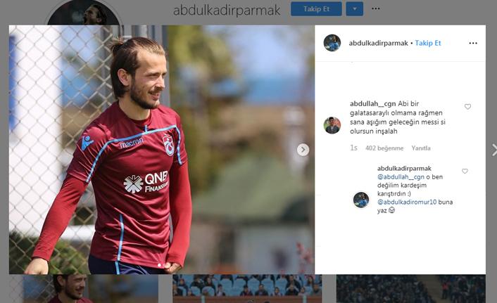 Abdülkadir Parmak'tan sosyal medyada güldüren diyalog!
