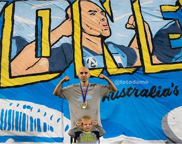 Trabzonspor'un eski futbolcusu Adrian'a ödül!