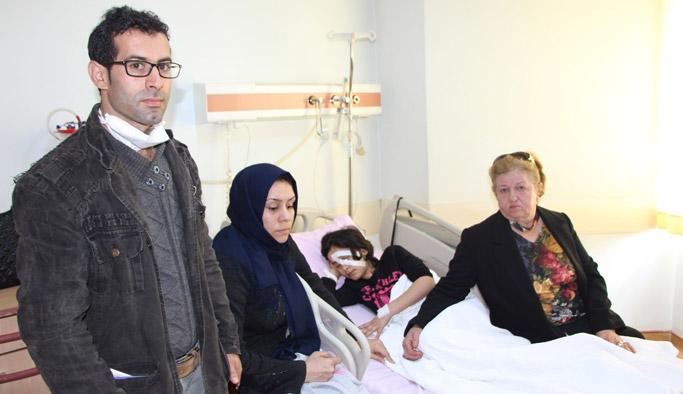 Trabzon'da acı kaza; Kalem gözüne girdi...