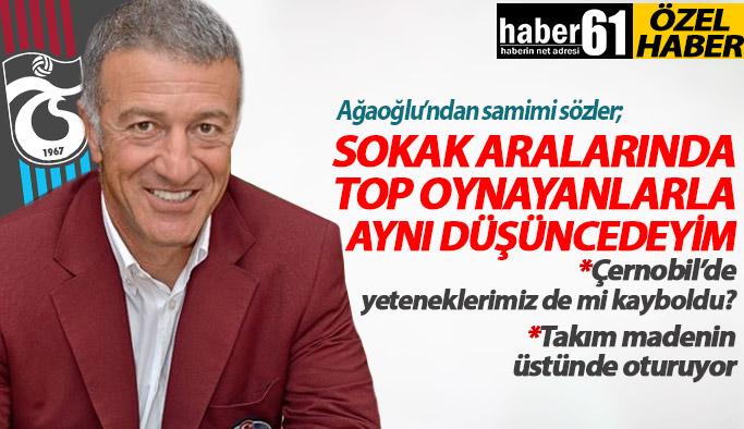 Trabzonspor'a Başkan adaylığını açıkladı