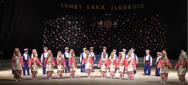 Ahmet Saka İlkokulu göz doldurdu…