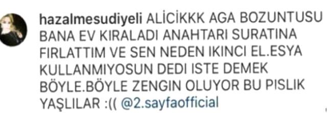 Ali Ağaoğlu'na şok! Eski sevgilisinden hakaret dolu sözler