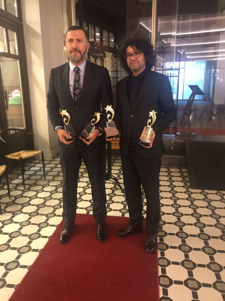 Trabzonlu yapımcıya 4 ödül birden