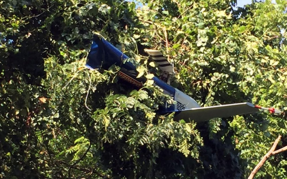 Helikopter düştü: 2 polis öldü