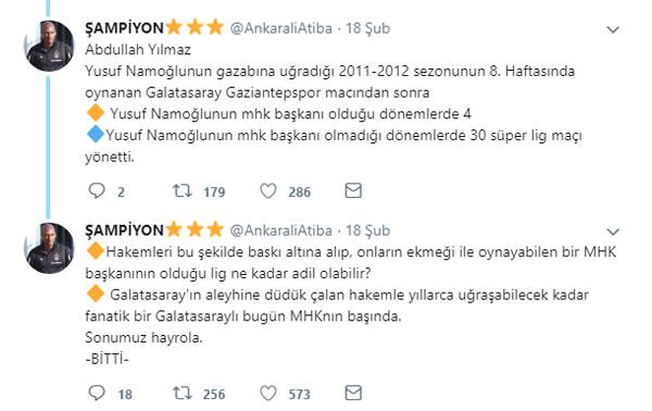 Trabzonlu hakemin istifası sonrası iddialar ortalığı karıştırdı