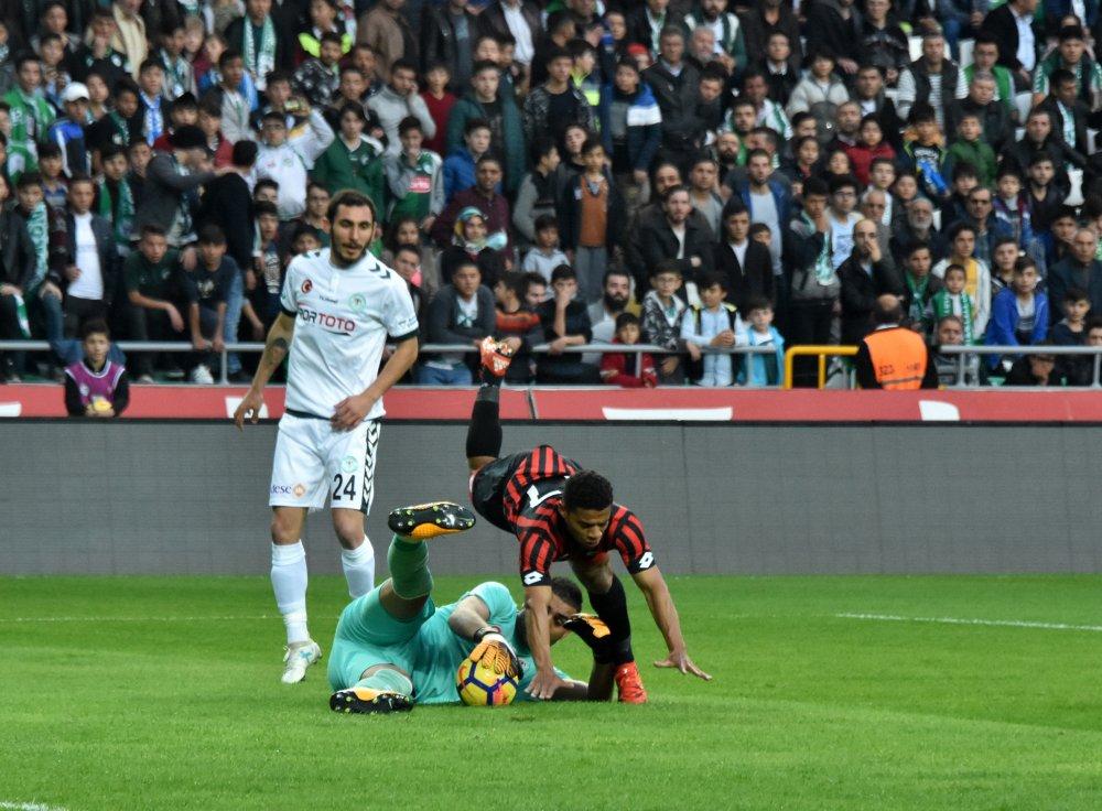 Gençlerbirliği, Konyaspor'a teslim oldu