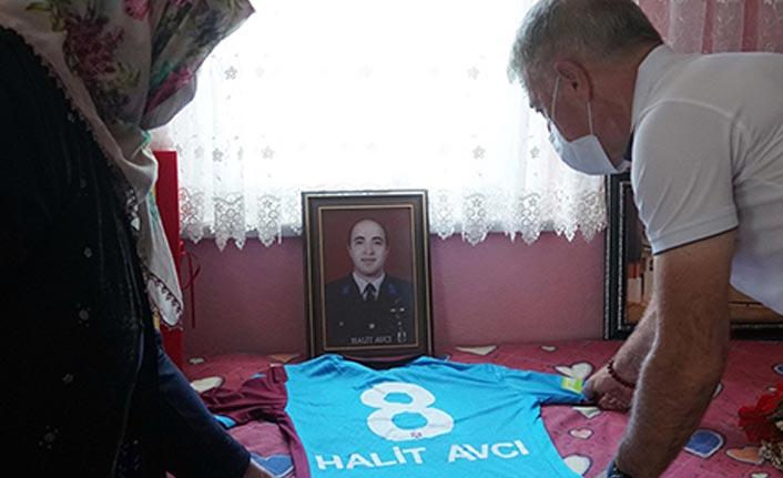 Başkan Ağaoğlu'ndan şehit ailesine ziyaret