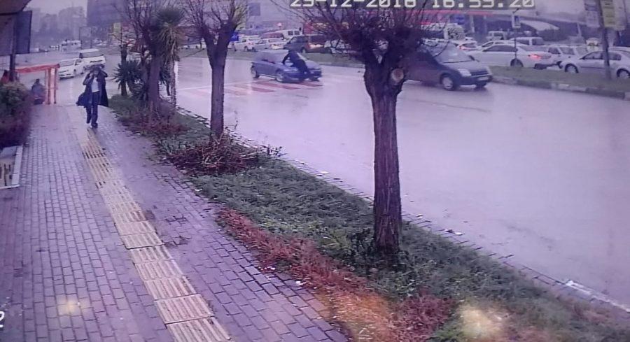 Trabzon'dan Bursa'ya gitti kaza geçirdi!
