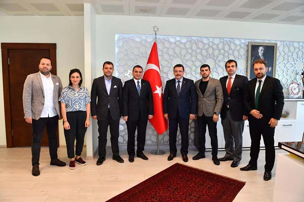 TSİAD'dan Başkan Genç'e ziyaret
