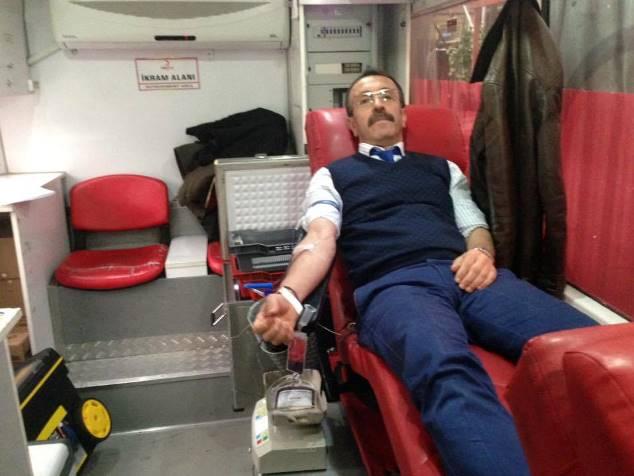 Of belediyesinden kan bağışı kampanyası