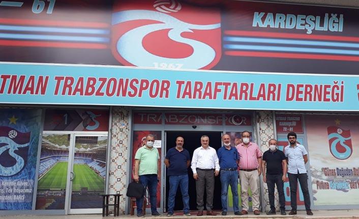 Batman'da Trabzonspor'un galibiyeti böyle kutlandı