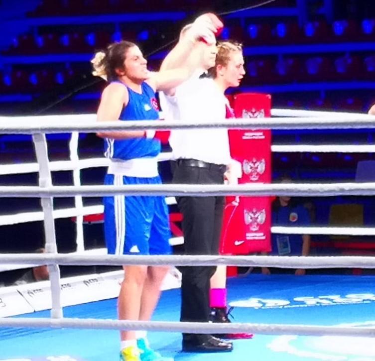 Avrupa Ümit Kadınlar Boks Şampiyonası'na Trabzonlular damga vurdu!