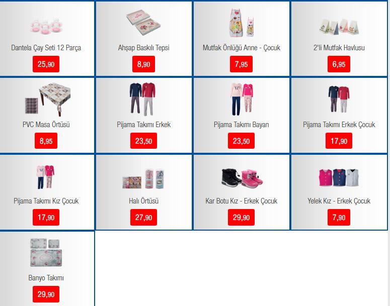 Bim Aktüel ürünler haftanın kampanyaları - 4 Şubat Bim indirimli ürünler