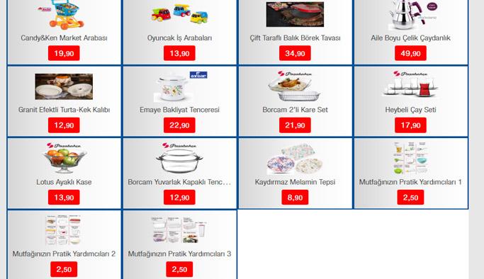 Bim Aktüel ürünler haftanın kampanyaları - 23 Şubat Bim indirimleri