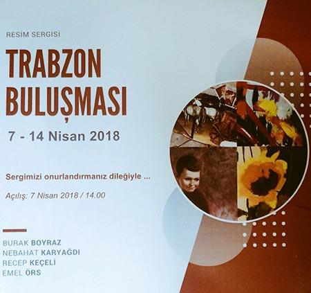 Ressamlar Trabzon'da buluşuyor