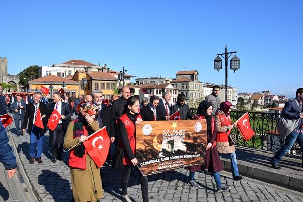 Trabzon'dan Çanakkale şehitlerine vefa