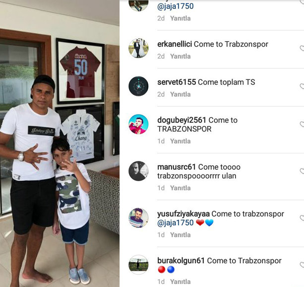 Trabzonspor taraftarından Jaja baskısı!