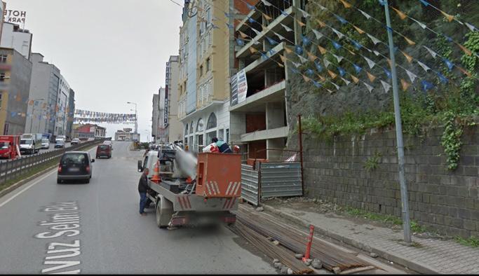 Trabzon'da inşaat yok tabela var!