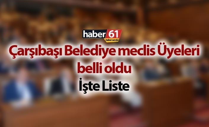 Trabzon Belediye Meclis Üyeleri Listeleri  -  Tüm İlçeler