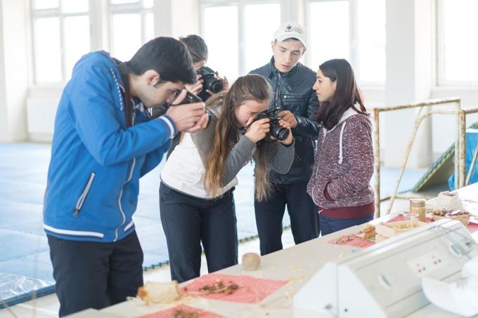 Öğrencilere fındık temalı fotoğrafçılık kursu verildi