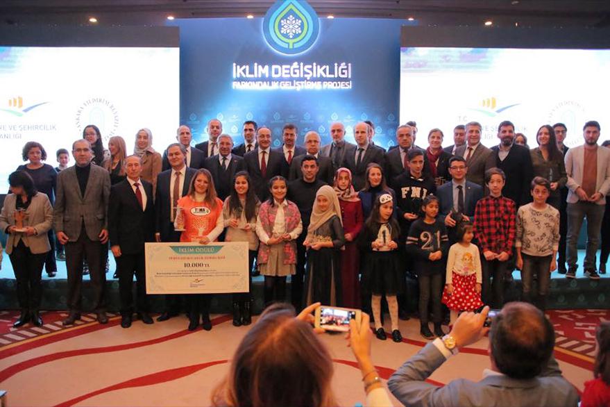Bakanlıktan Trabzon'a ödül