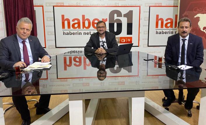 CHP'li Meclis Üyeleri Zorlu ve Söğüt Trabzon'un sorunlarını Haber61'de değerlendirdi