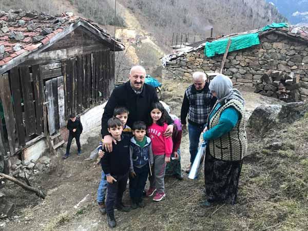 Başkan Çebi'ye büyük ilgi