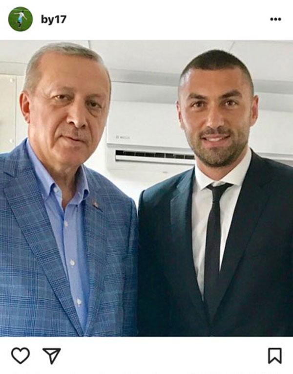 Burak Yılmaz Trabzonspor'a imzayı attı, sosyal medyada kendi de coştu taraftarda..