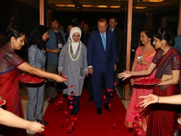 Cumhurbaşkanı Recep Tayyip Erdoğan Hindistan'da 3