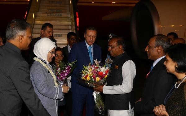 Cumhurbaşkanı Recep Tayyip Erdoğan Hindistan'da 4