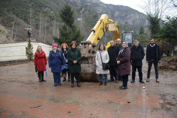 Maçka'daki 100. yıl Parkı projesine tepki