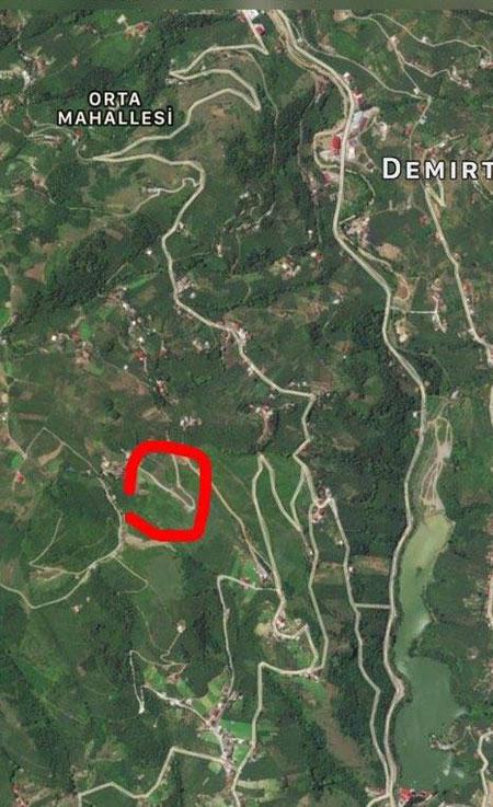 Trabzon'da bu yol korkutuyor