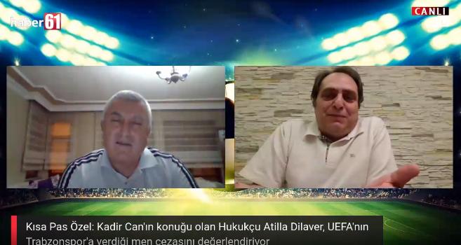 Atilla Dilaver Haber61'e değerlendirdi: Trabzonspor'un cezası kaldırılabilir mi?